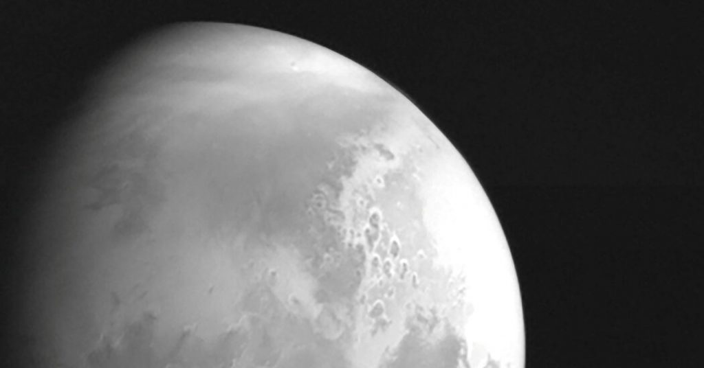 China's Mars Mission Begins Orbit of the Red Planet
